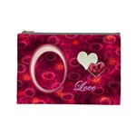 I heart you Love  Large Cosmetic Bag - Cosmetic Bag (Large)