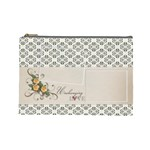 Cosmetic Bag (Large)- Unchanging Love