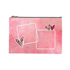 Cosmetic Bag (large)  Lovelove By Jennyl   Cosmetic Bag (large)   Ylvo7qun2bbu   Www Artscow Com Front