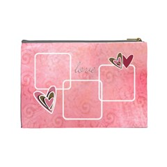 Cosmetic Bag (large)  Lovelove By Jennyl   Cosmetic Bag (large)   Ylvo7qun2bbu   Www Artscow Com Back