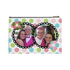 Lydias Make Up Bag By Regina   Cosmetic Bag (large)   Kf6sgt82ly8a   Www Artscow Com Back
