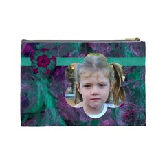 New Year Large Cosmetic Case 2 By Joan T   Cosmetic Bag (large)   R83n9o9nsajq   Www Artscow Com Back