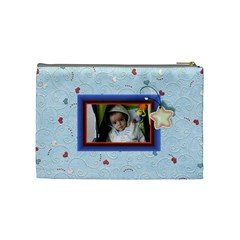 With Love   Blue Purse By Daniela   Cosmetic Bag (medium)   Yber3jw1q5rl   Www Artscow Com Back