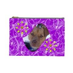 Madame Butterfly Large Cosmetic Case 3 By Joan T   Cosmetic Bag (large)   Nkjn8dn4koli   Www Artscow Com Front