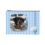 Baby Blue large Cosmetic Case  - Cosmetic Bag (Large)