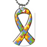 Autism Awareness Dog Tag-2 sides - Dog Tag (Two Sides)