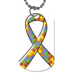 Autism Awareness Dog Tag - 1 side - Dog Tag (One Side)