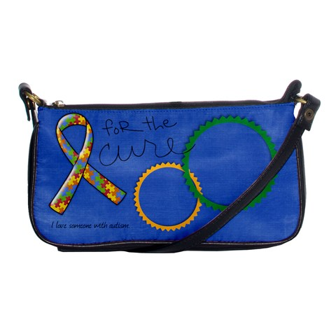 Autism Awareness Clutch By Mikki   Shoulder Clutch Bag   2izoa4pa52tb   Www Artscow Com Front