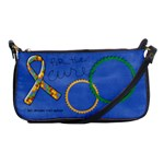 Autism Awareness clutch - Shoulder Clutch Bag