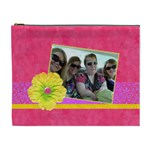 Pink Lemonade XL Cosmetic Bag - Cosmetic Bag (XL)
