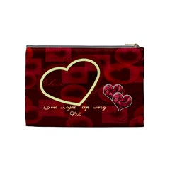 You Light Up My Life Love Medium Cosmetic Bag By Ellan   Cosmetic Bag (medium)   Pcbg78sacq5j   Www Artscow Com Back