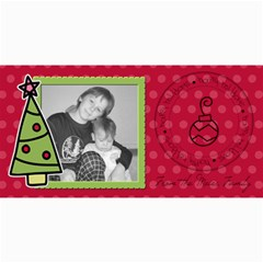 Happy Holidays Card By Martha Meier   4  X 8  Photo Cards   44dqss110ker   Www Artscow Com 8 x4 Photo Card - 3