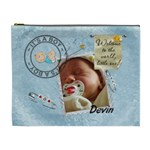 It s a Boy XL Cosmetic/Baby Stuff Bag - Cosmetic Bag (XL)