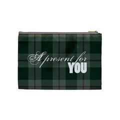 A Present For You      Cosmetic Bag (medium)   By Carmensita   Cosmetic Bag (medium)   Ahjozf134psy   Www Artscow Com Back