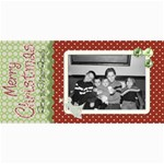 Merry Christmas card 2 - 4  x 8  Photo Cards