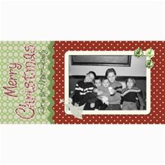 Merry Christmas Card 2 By Martha Meier   4  X 8  Photo Cards   Jyx4cha5qew4   Www Artscow Com 8 x4  Photo Card - 8