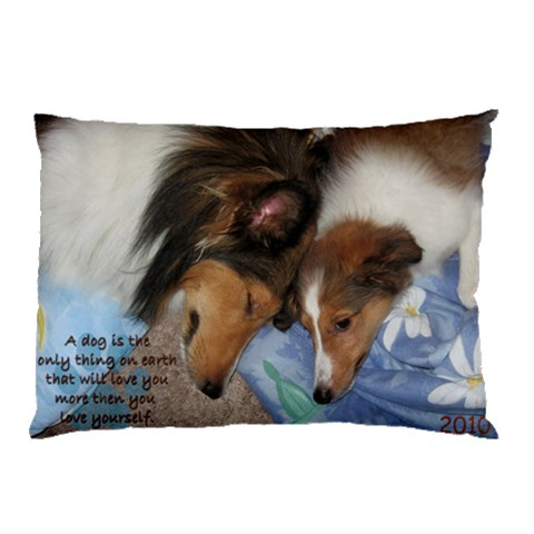Marissa s Pillow By Sherri   Pillow Case   Bndujx07gdbs   Www Artscow Com 26.62 x18.9 Pillow Case