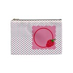 Strawberries cosmetic bag M 01 - Cosmetic Bag (Medium)
