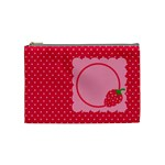 Strawberries cosmetic bag M 02 - Cosmetic Bag (Medium)