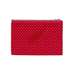 Strawberries Cosmetic Bag M 02 By Carol   Cosmetic Bag (medium)   Vi37lisr7qs6   Www Artscow Com Back