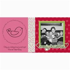 Merry Christmas Card 3 By Martha Meier   4  X 8  Photo Cards   Buchnmhl86j9   Www Artscow Com 8 x4 Photo Card - 4