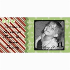 Merry Christmas Card 4 By Martha Meier   4  X 8  Photo Cards   3whi7swpaeim   Www Artscow Com 8 x4 Photo Card - 1