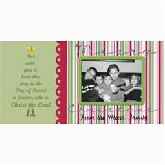 Merry Christmas Card 5 By Martha Meier   4  X 8  Photo Cards   9bphxvkfqx7s   Www Artscow Com 8 x4 Photo Card - 1