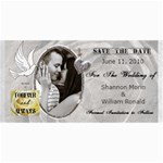 Wedding Save The Date Cards - 4  x 8  Photo Cards