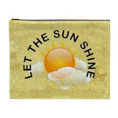Let The Sun Shine Xl Cosmetic Bag By Lil    Cosmetic Bag (xl)   Ji5u70uwktwj   Www Artscow Com Front