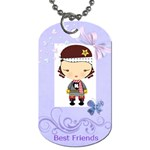 best friend harajuku - Dog Tag (Two Sides)