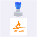 Halloween - Rubber Stamp Round (Medium)