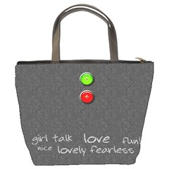 Girlfriends Custom Bucket Bag By Purplekiss   Bucket Bag   Kx1irzbph14z   Www Artscow Com Back