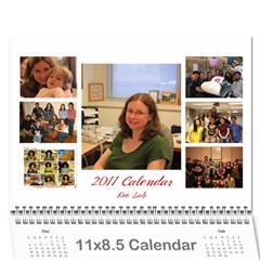 Lab Calender Modified By Wei   Wall Calendar 11  X 8 5  (12 Months)   Rr7m12wl0wn5   Www Artscow Com Cover