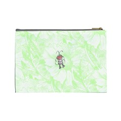 Doodles Large Cosmetic Case 2 By Joan T   Cosmetic Bag (large)   203umofh9wzv   Www Artscow Com Back