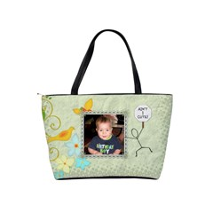 Discover Wildlife   Have Kids! Shoulder Handbag By Lil    Classic Shoulder Handbag   Net8zeiclcsl   Www Artscow Com Back
