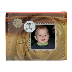 Little Person   Big Attitude Xl Cosmetic Bag By Lil    Cosmetic Bag (xl)   570c4kefup9e   Www Artscow Com Back
