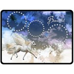 Winged Fantasy Blanket - Fleece Blanket (Large)