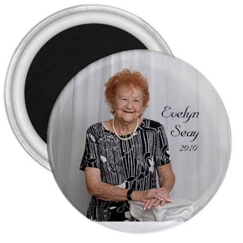 Evelyn Seay Magnet By Stephanie   3  Magnet   W91ajo1224o0   Www Artscow Com Front