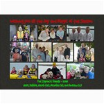 Zupancic Christmas Card 2010 - 5  x 7  Photo Cards