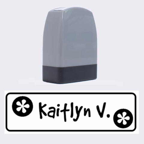 Kaitlyn Stamp By Nicole   Name Stamp   2d6hb1yk7r5g   Www Artscow Com 1.4 x0.5  Stamp