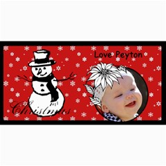 Christmas Cards By Nell Colglazier   4  X 8  Photo Cards   0yzwn7uy4to7   Www Artscow Com 8 x4 Photo Card - 1