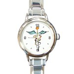 REGISTERED NURSE RN HOSPITAL ROUND ITALIAN CHARM WATCH