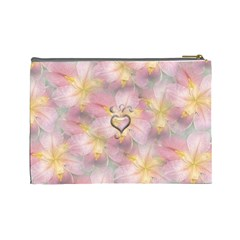 Iris Large Cosmetic Case 4 By Joan T   Cosmetic Bag (large)   U0mgj7fdcfsq   Www Artscow Com Back