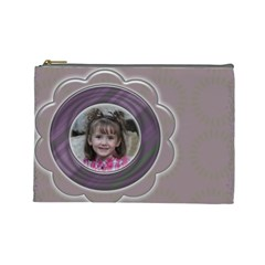 Cosmetic Bag By Amanda Bunn   Cosmetic Bag (large)   Dhu1ux1z99yl   Www Artscow Com Front