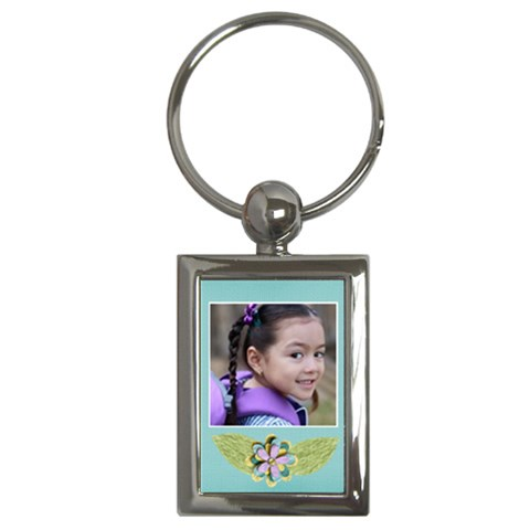 Key Chain (rectangle)    Flowers2 By Jennyl   Key Chain (rectangle)   Ce6cmsdmoq2h   Www Artscow Com Front