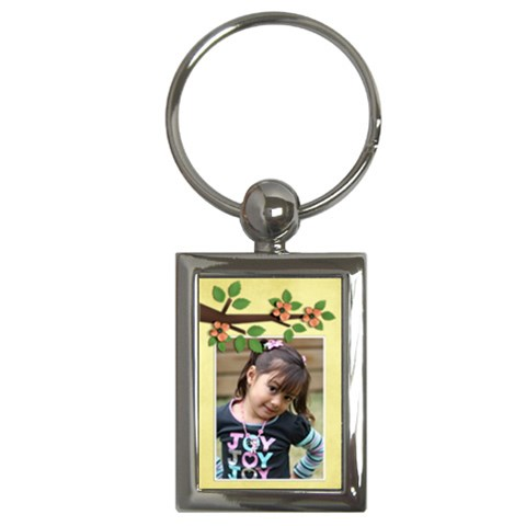Key Chain (rectangle)    Flowers8 By Jennyl   Key Chain (rectangle)   U56yao4by4fs   Www Artscow Com Front
