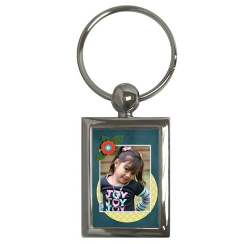 Key Chain (rectangle)    Flowers9 By Jennyl   Key Chain (rectangle)   K8n0xs9409m8   Www Artscow Com Front