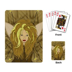 Lion Queen Playing Cards Single Design