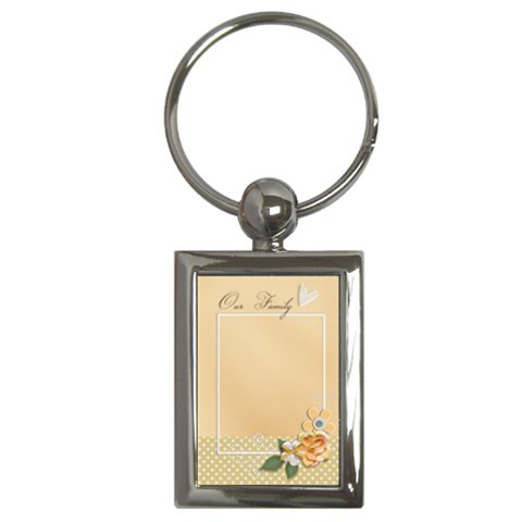 Key Chain (rectangle)    Our Family By Jennyl   Key Chain (rectangle)   Lyz1zihrqeon   Www Artscow Com Front