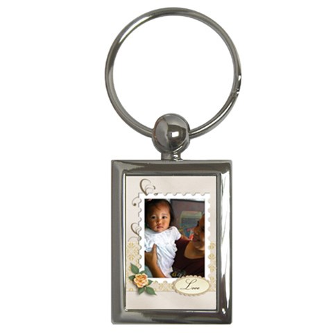Key Chain (rectangle)    Love By Jennyl   Key Chain (rectangle)   Z23an5sitmbs   Www Artscow Com Front